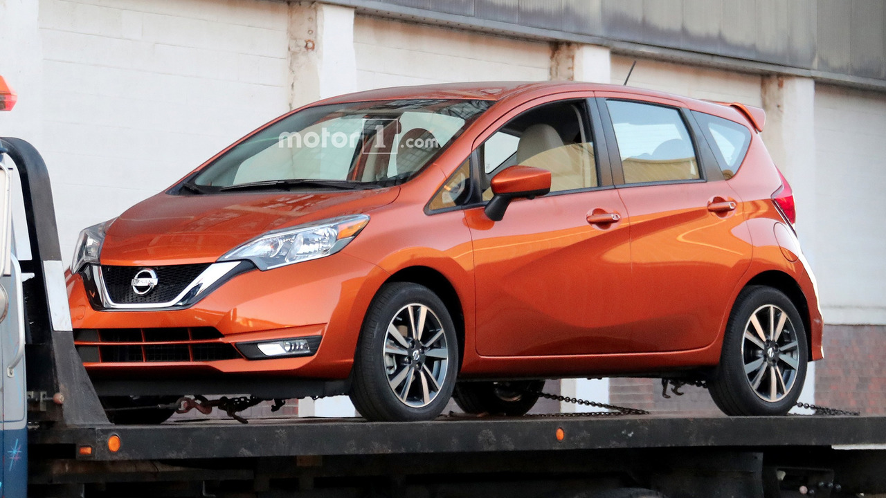 2017 Nissan Versa Note spy photo