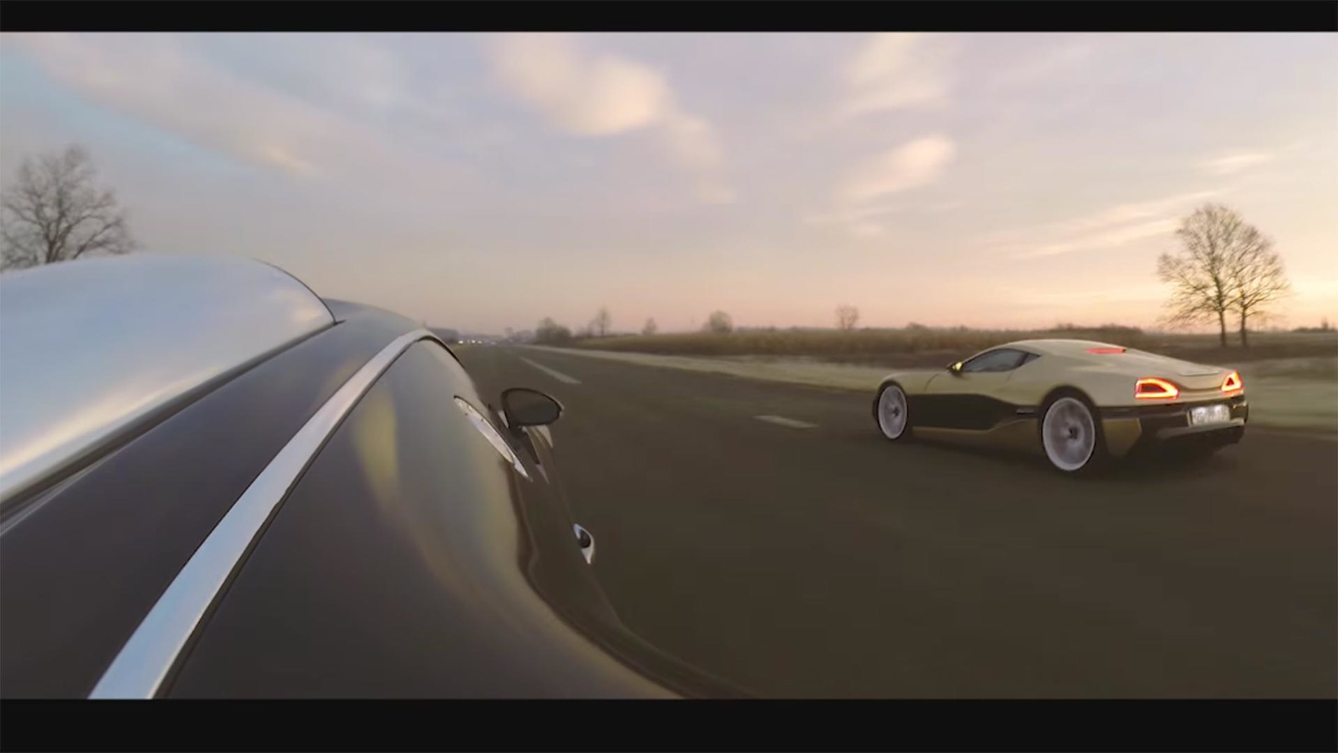 bugatti-veyron-and-rimac-race Gorgeous Bugatti Veyron Grand Sport Vitesse Drag Race Cars Trend
