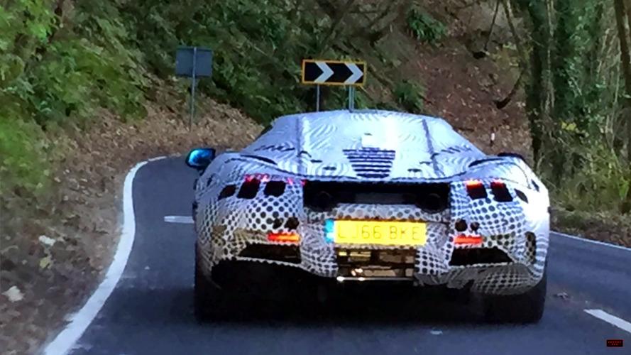 McLaren P14 gözetlendi