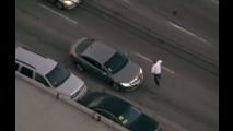Vídeo: perseguição policial em Los Angeles ao