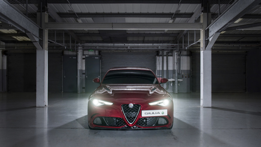 Alfa Romeo Giulia Quadrifoglio sets fastest blindfolded lap record at Silverstone