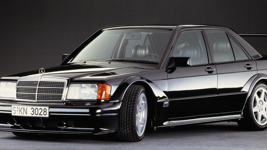 Mercedes celebrates the 25th anniversary of the 190 E Evo II