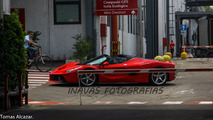 LaFerrari Aperta spy photo
