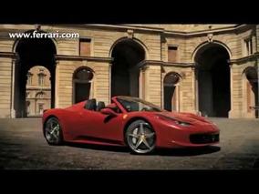 2012 Ferrari 458 Spider Official Video