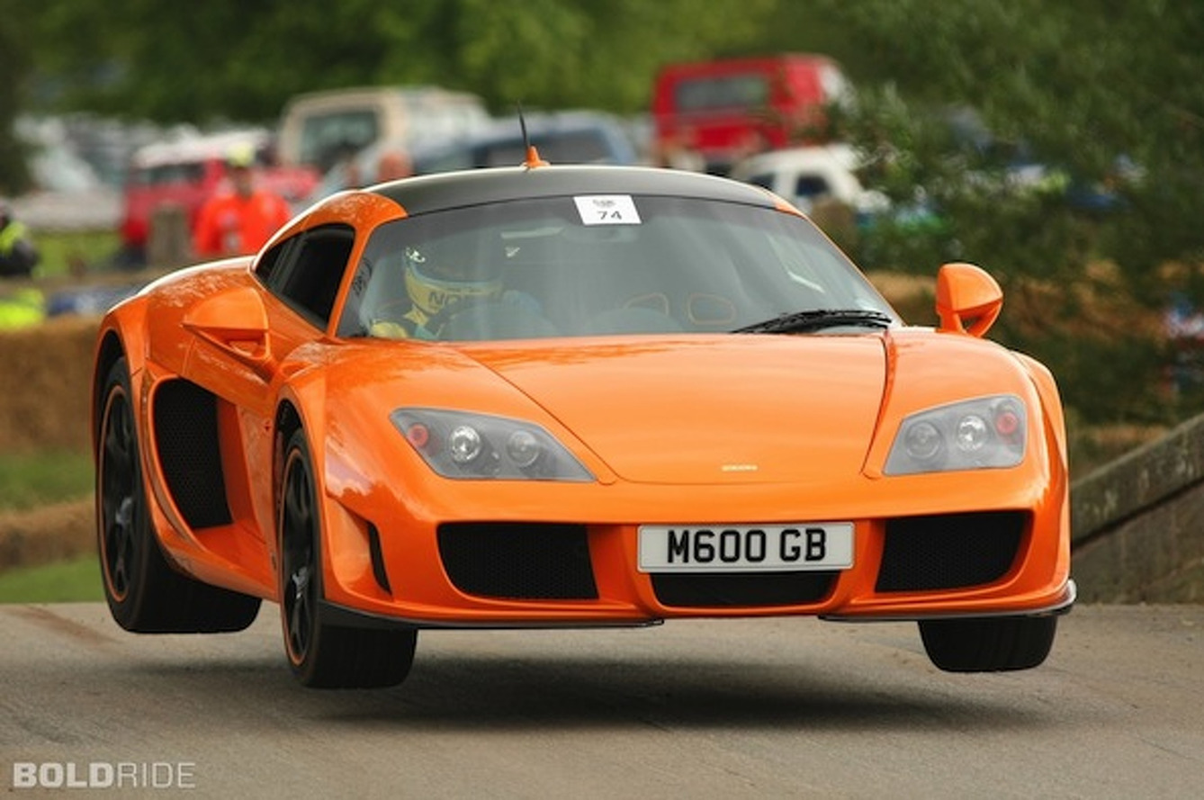 Wheels Wallpaper: Noble M600 Takes Flight
