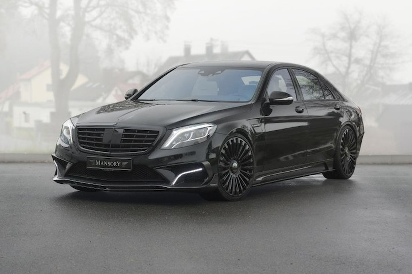 Mansory Built a Monster 1,000HP Mercedes S-Class