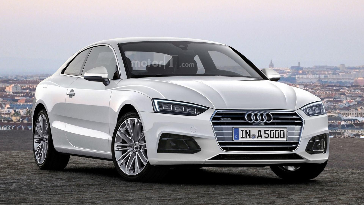 Audi audi a4 coup : 2017 Audi A5 Coupe looks rather stylish in new rendering