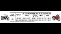 Recall: Honda convoca as novas CB 500F e CBR 500R 2014 no Brasil