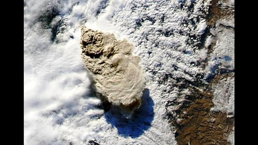 Vulcão chileno atrapalha Salão do Automóvel argentino