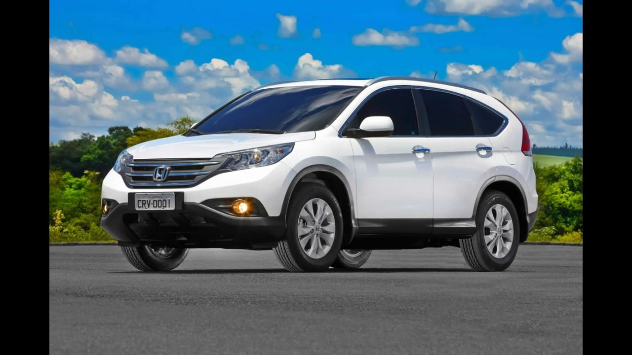 Honda CR-V ganhará motorização flex em breve