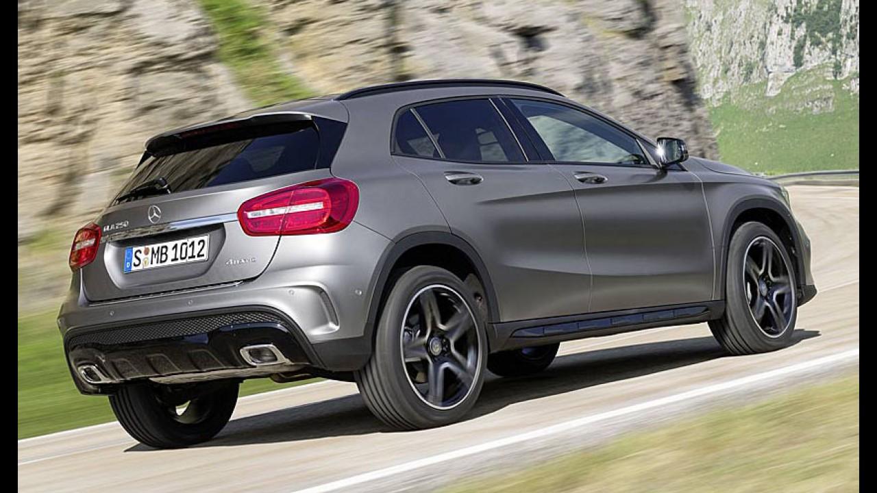 Mercedes: família Classe A ganhará versões híbridas com motor de três cilindros