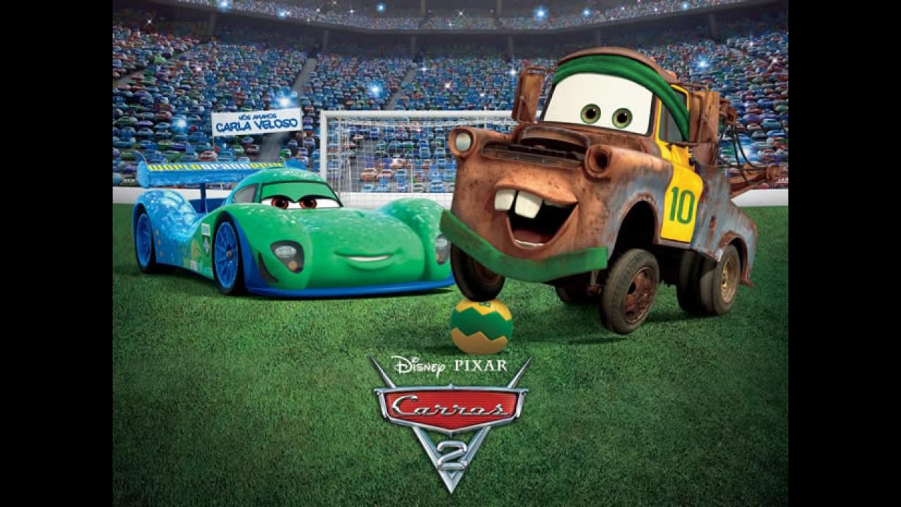 """Disney e Pixar confirmam sequência """"Carros 3"""""""