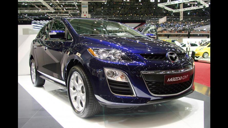 Premiere für das überarbeitete Kompakt-SUV Mazda CX-7