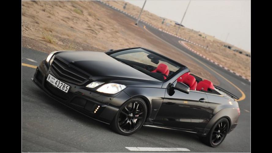 800 PS starkes Cabrio: Offene E-Klasse von Brabus