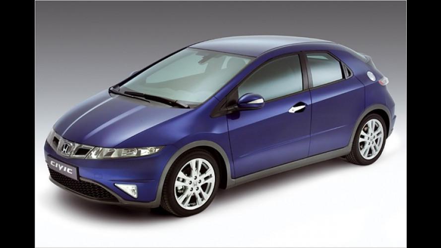 Honda Civic geht frisch überarbeitet ins Modelljahr 2009