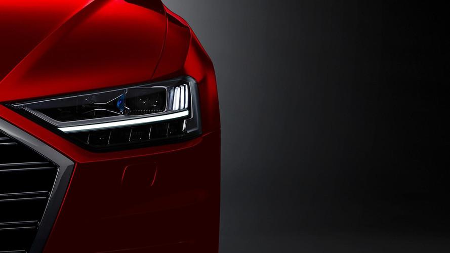 Audi A8 Teasers