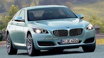 2010 BMW 5 Series renderings