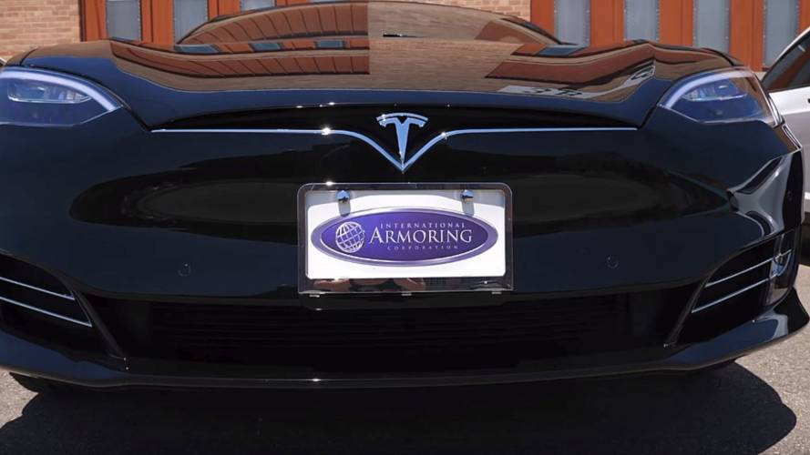 Let's Go Inside This Bulletproof Tesla