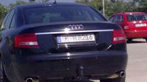 2012 Audi A6 C7 spy photos