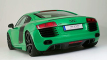 MTM Audi R8 in original GT3 Porsche green colour