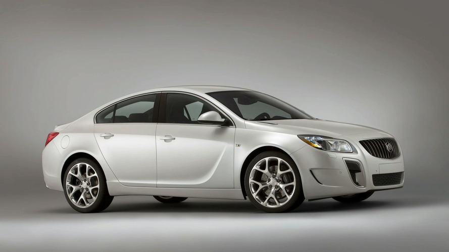 Buick Regal GS high performance version confirmed