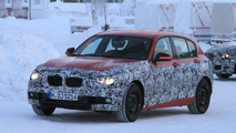 2012 BMW 1-Series prototype winter testing 21.01.2011