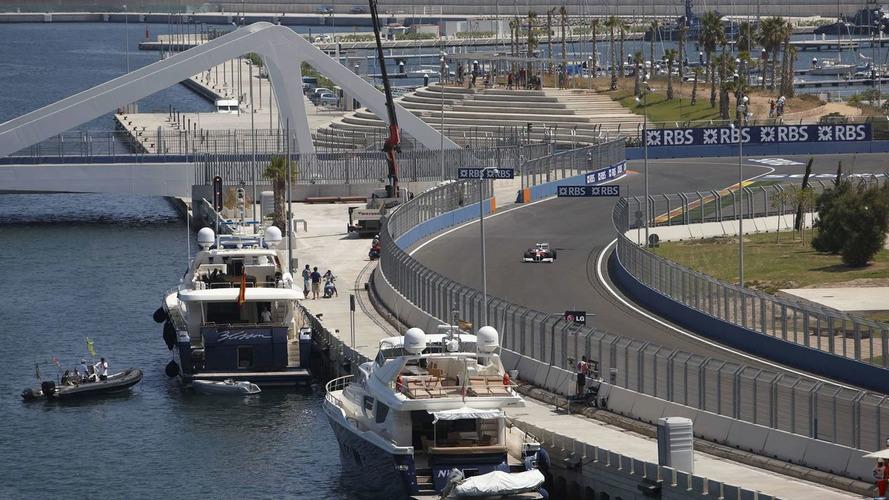 Terror threat eases in F1 host city Valencia