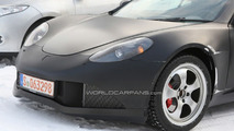 Artega GT winter testing spy photo
