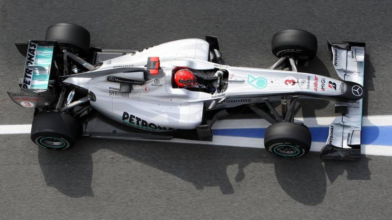 Michael Schumacher (GER), Mercedes GP Petronas, W01, Spanish Grand Prix, 07.05.2010 Barcelona, Spain