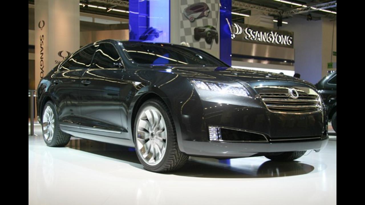 Der SsangYong Wz ist die erste Limousine der Südkoreaner, eine Abkehr von der ausschließlichen Ausrichtung auf SUVs