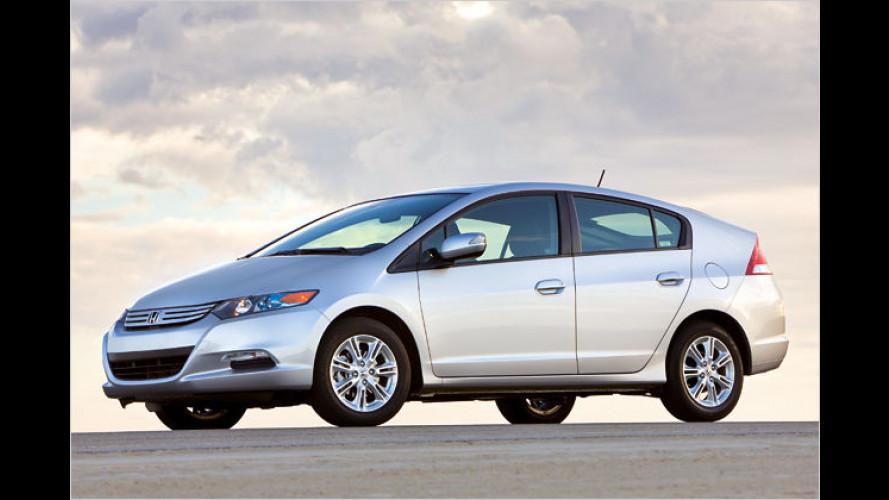 Hybridmodell Honda Insight: Erstes Bild der Serienversion