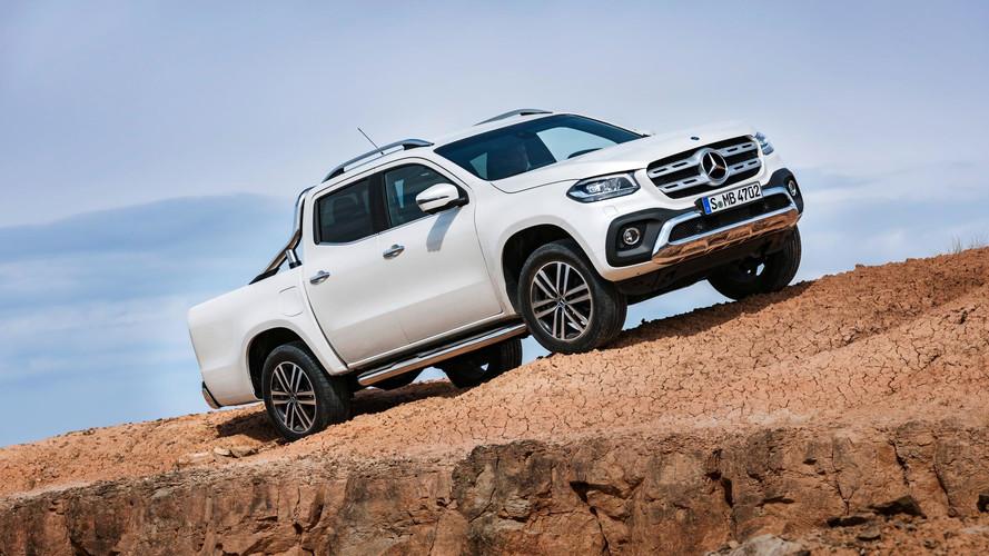 Nova picape média Mercedes-Benz Classe X estreia na África do Sul