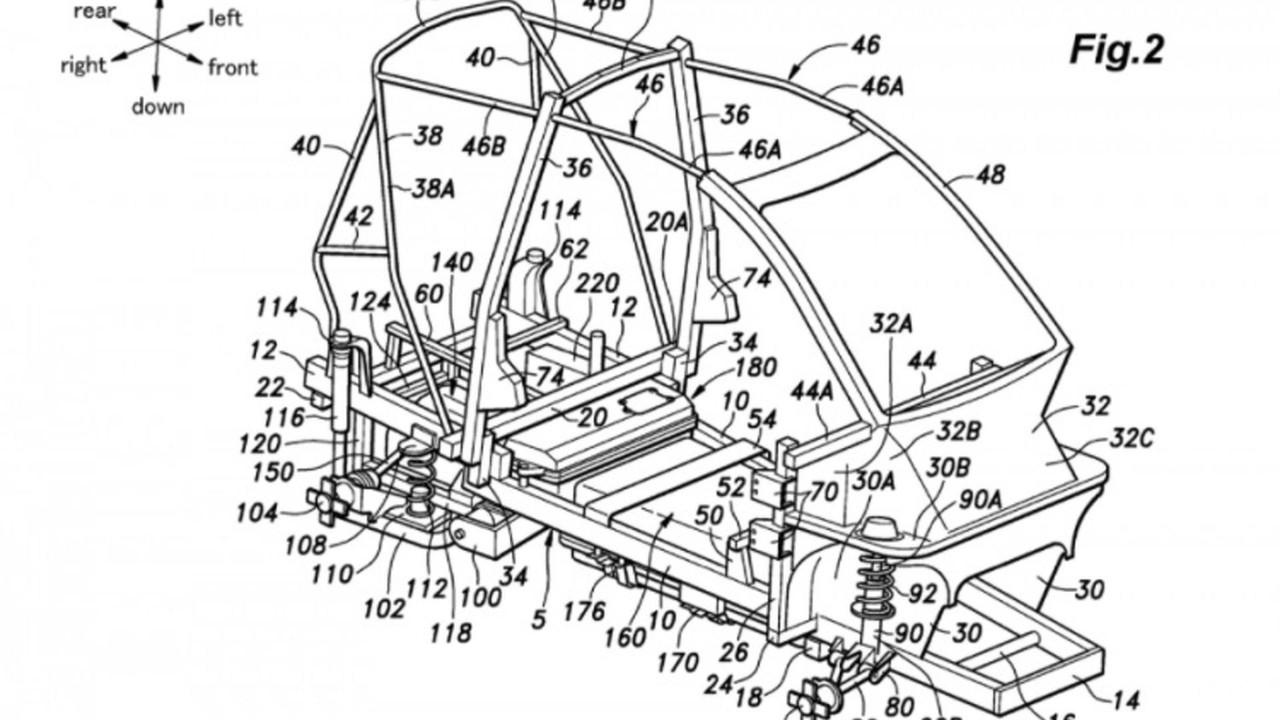 Honda küçük EV patenti