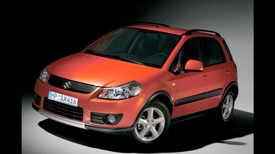 Suzuki SX4: Die japanische Ausführung des Fiat Sedici