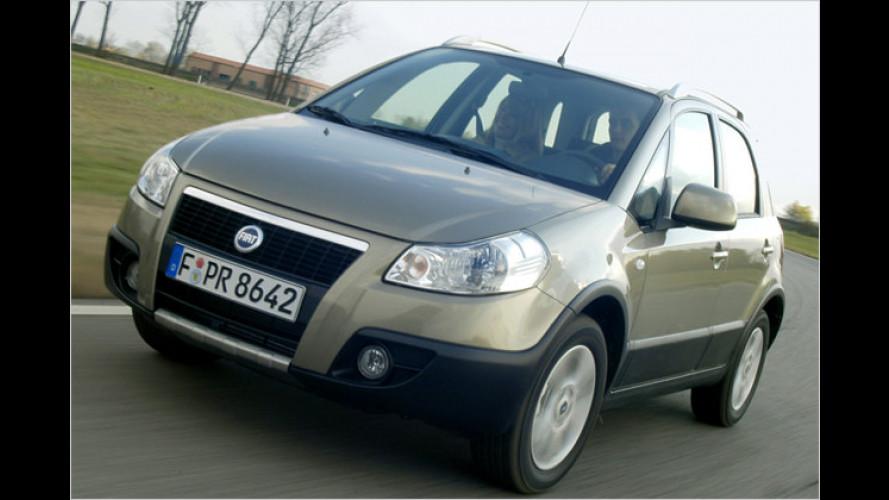 Fiat-SUV Sedici ab sofort auch mit Frontantrieb erhältlich