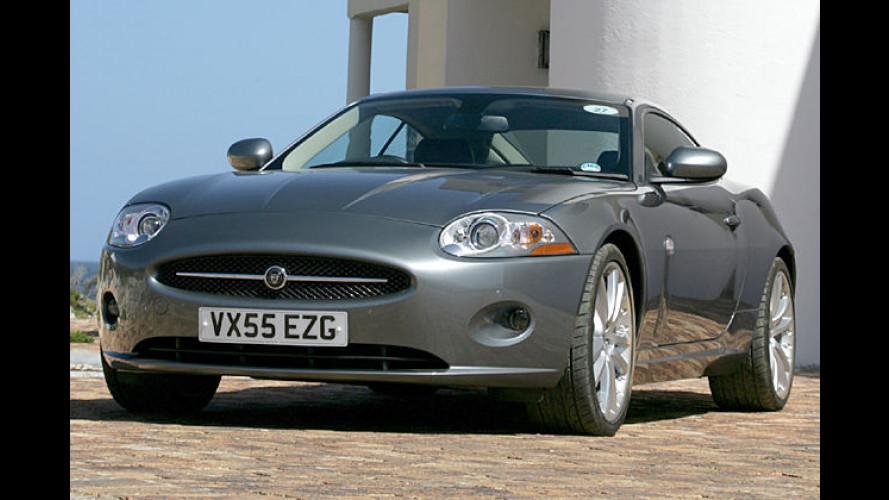 Jaguar bringt 258 PS starken 3,5-Liter-V8-Motor für den XK
