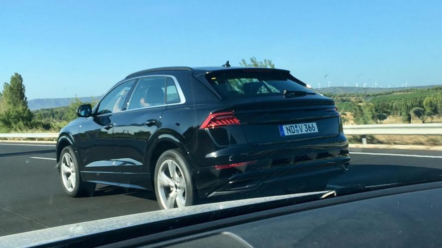 L'Audi Q8, presque à nu !