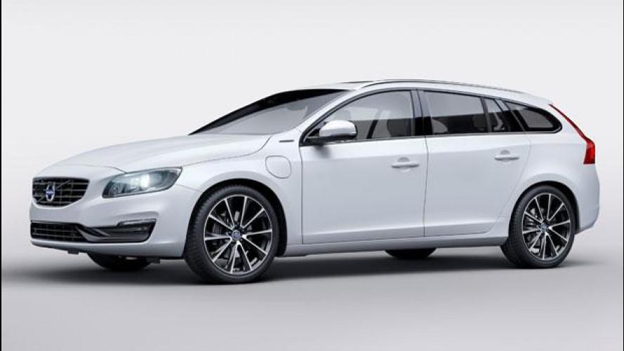 Volvo V60 D5 Twin Engine Special Edition, l'ibrida si fa più popolare