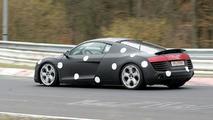 Audi R8 on Nurburgring