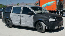 More 2008 Chrysler Voyager Spy Photos